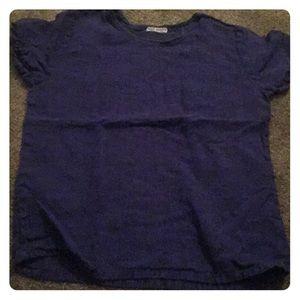 Indigo Blue Shirt